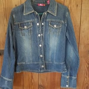 Nice fitted jean jacket